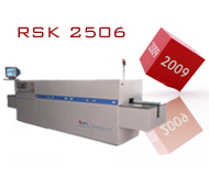 RSK 2506 Fast Fire Belt Conveyor Furnace